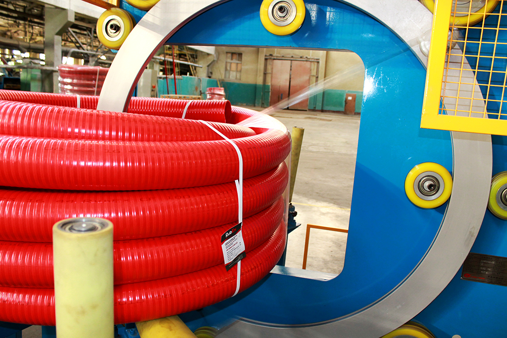 PVC hoses manufactured by RubEx Group